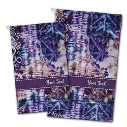 Tie Dye Golf Towel - Full Print w/ Name or Text