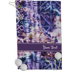 Tie Dye Golf Towel - Full Print (Personalized)