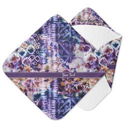 Tie Dye Hooded Baby Towel (Personalized)