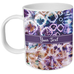 Tie Dye Plastic Kids Mug (Personalized)
