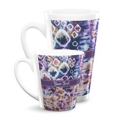 Tie Dye Latte Mug (Personalized)