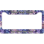 Tie Dye License Plate Frame (Personalized)