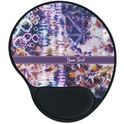 Tie Dye Mouse Pad with Wrist Support