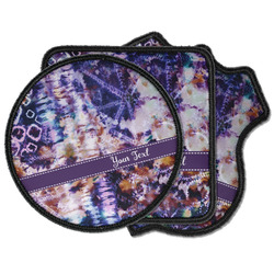 Tie Dye Iron on Patches (Personalized)