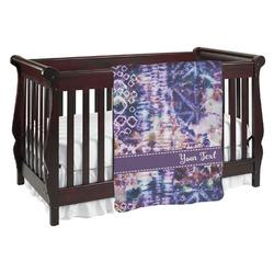 Tie Dye Baby Blanket (Personalized)