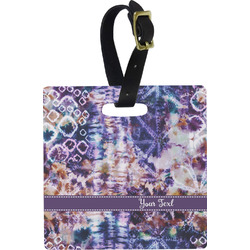 Tie Dye Luggage Tags (Personalized)