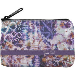 Tie Dye Rectangular Coin Purse (Personalized)