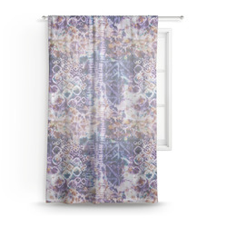 Tie Dye Sheer Curtains (Personalized)