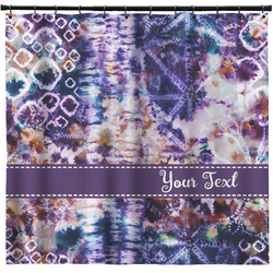 Tie Dye Shower Curtain (Personalized)