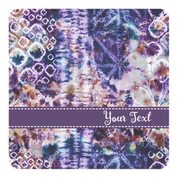 Tie Dye Square Decal (Personalized)