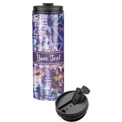 Tie Dye Stainless Steel Travel Tumbler (Personalized)