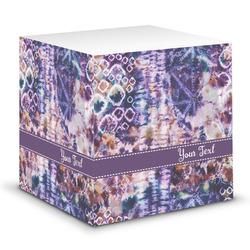 Tie Dye Sticky Note Cube (Personalized)