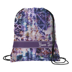 Tie Dye Drawstring Backpack (Personalized)