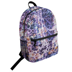 Tie Dye Student Backpack (Personalized)