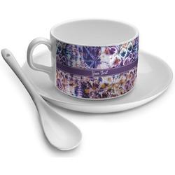 Tie Dye Tea Cups (Personalized)