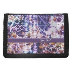 Tie Dye Trifold Wallet (Personalized)