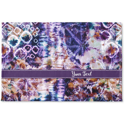 Tie Dye Woven Mat (Personalized)