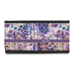 Tie Dye Leatherette Ladies Wallet (Personalized)
