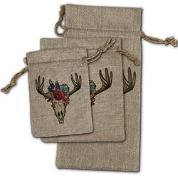 Boho Burlap Gift Bags (Personalized)