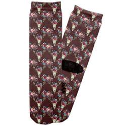 Boho Adult Crew Socks (Personalized)