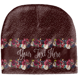 Boho Baby Hat (Beanie) (Personalized)