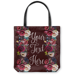 Boho Canvas Tote Bag (Personalized)