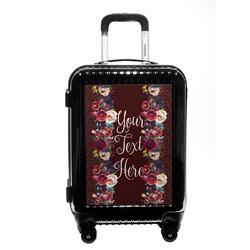 Boho Carry On Hard Shell Suitcase (Personalized)