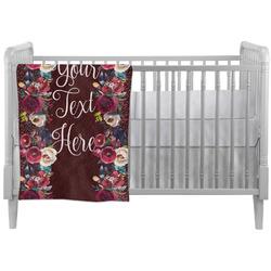 Boho Crib Comforter / Quilt (Personalized)