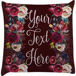Boho Decorative Pillow Case (Personalized)