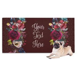 Boho Dog Towel (Personalized)
