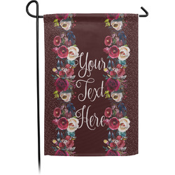 Boho Garden Flag - Single or Double Sided (Personalized)