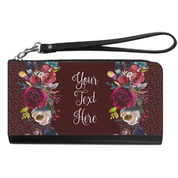 Boho Genuine Leather Smartphone Wrist Wallet (Personalized)