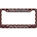 Boho License Plate Frame (Personalized)