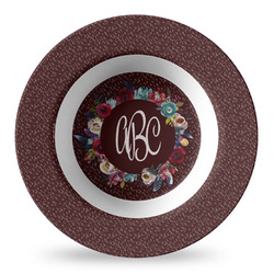 Boho Plastic Bowl - Microwave Safe - Composite Polymer (Personalized)