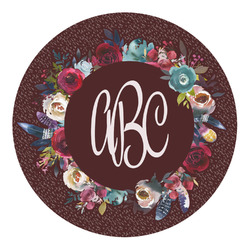 Boho Round Decal (Personalized)