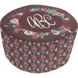 Boho Round Pouf Ottoman (Personalized)