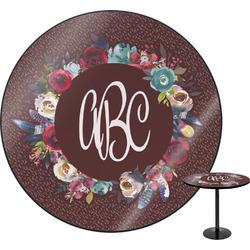 Boho Round Table (Personalized)