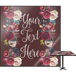 Boho Square Table Top (Personalized)