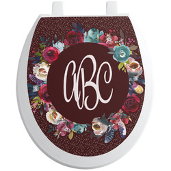 Boho Toilet Seat Decal (Personalized)