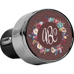 Boho USB Car Charger (Personalized)