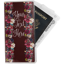 Boho Travel Document Holder