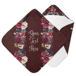 Boho Hooded Baby Towel (Personalized)