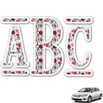 Boho Monogram Car Decal (Personalized)