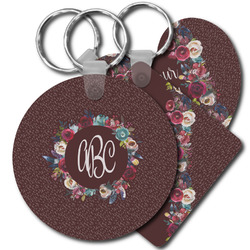 Boho Plastic Keychains (Personalized)