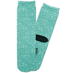 Dental Hygienist Adult Crew Socks (Personalized)