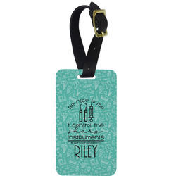 Dental Hygienist Metal Luggage Tag w/ Name or Text