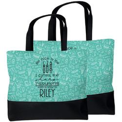 Dental Hygienist Beach Tote Bag (Personalized)