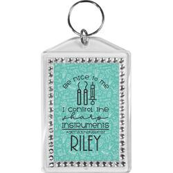 Dental Hygienist Bling Keychain (Personalized)