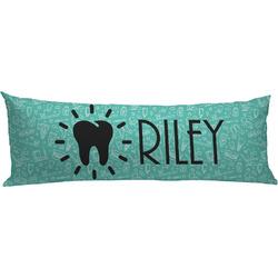 Dental Hygienist Body Pillow Case (Personalized)