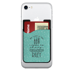 Dental Hygienist 2-in-1 Cell Phone Credit Card Holder & Screen Cleaner (Personalized)